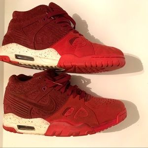 Nike Air Trainer III LE Team Red & White Sneakers